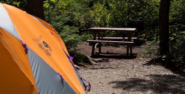 Camping - photo Yan Turcotte