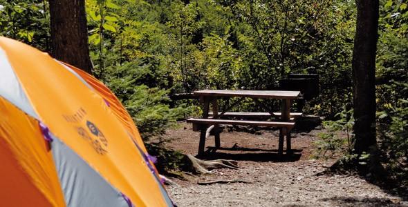 camping des Trois-Fourches