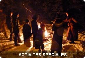 activités spéciales