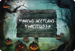 marche nocturne d'Halloween