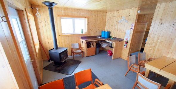 Camp de base - intérieur