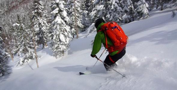 Ski de montagne au Parc régional du Massif du Sud